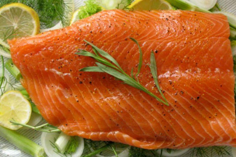 درمان انفولانزا با ماهی سالمون