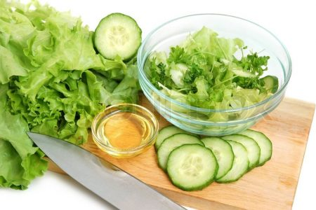 لاغری در ماه رمضان با سبزیجات