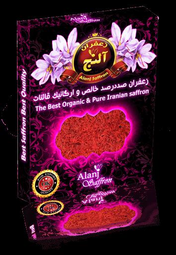 زعفران کریستالی آلنج